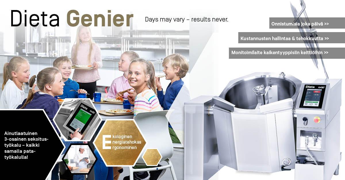 Uuden sukupolven sekoittavilla Genier-padoilla pystytään ratkaisemaan asiakkaiden erilaisia haasteita aiempaa paremmin.