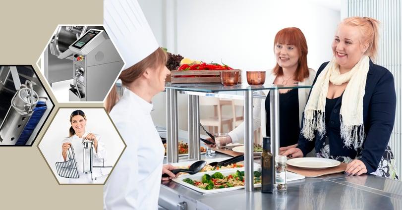 Dieta Genier -monitoimipadalla valmistat korkealaatuista ruokaa tehokkaasti.