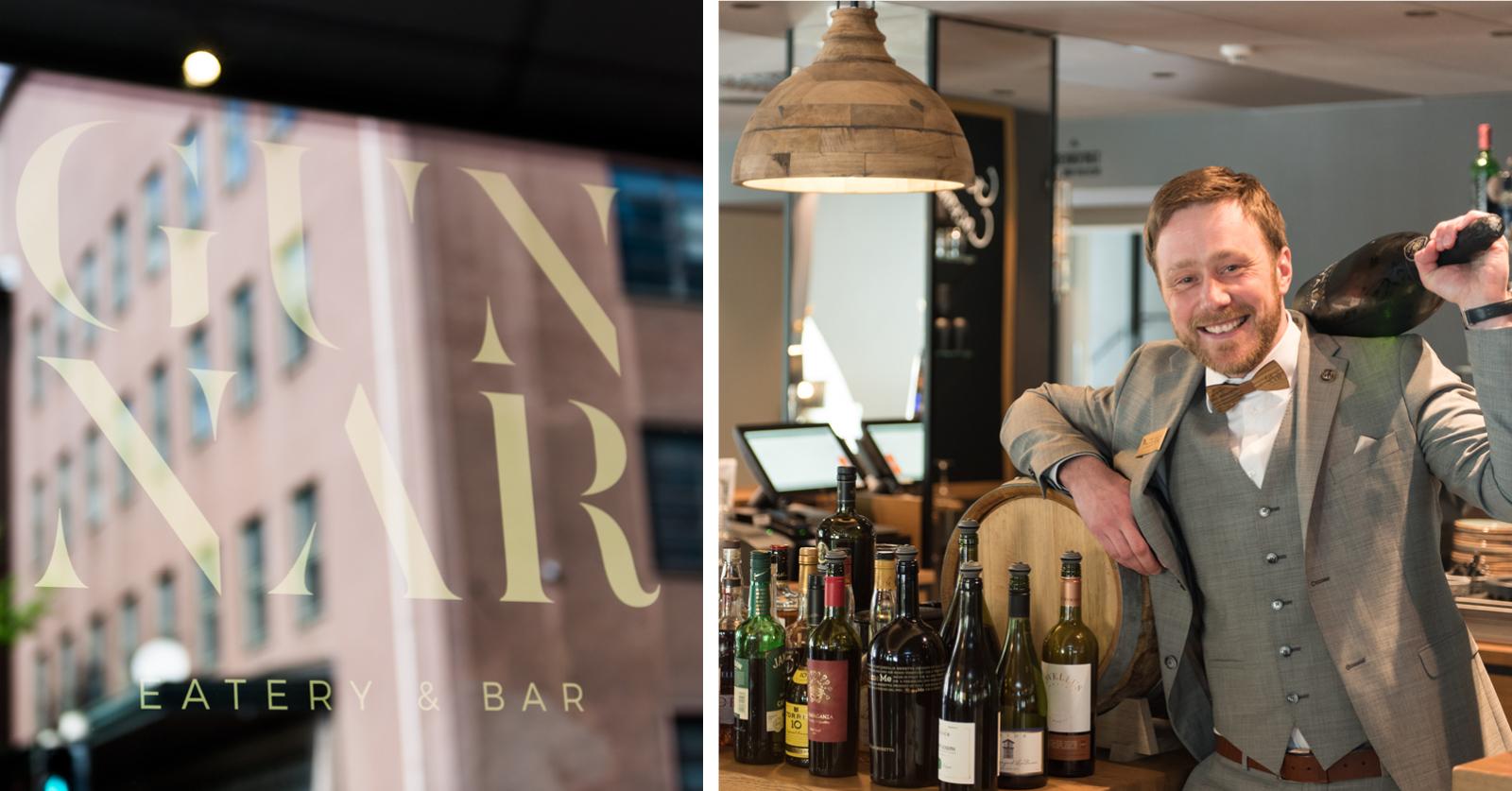 Gunnar Eatery & Bar Iso pullo on myös ekologinen valinta