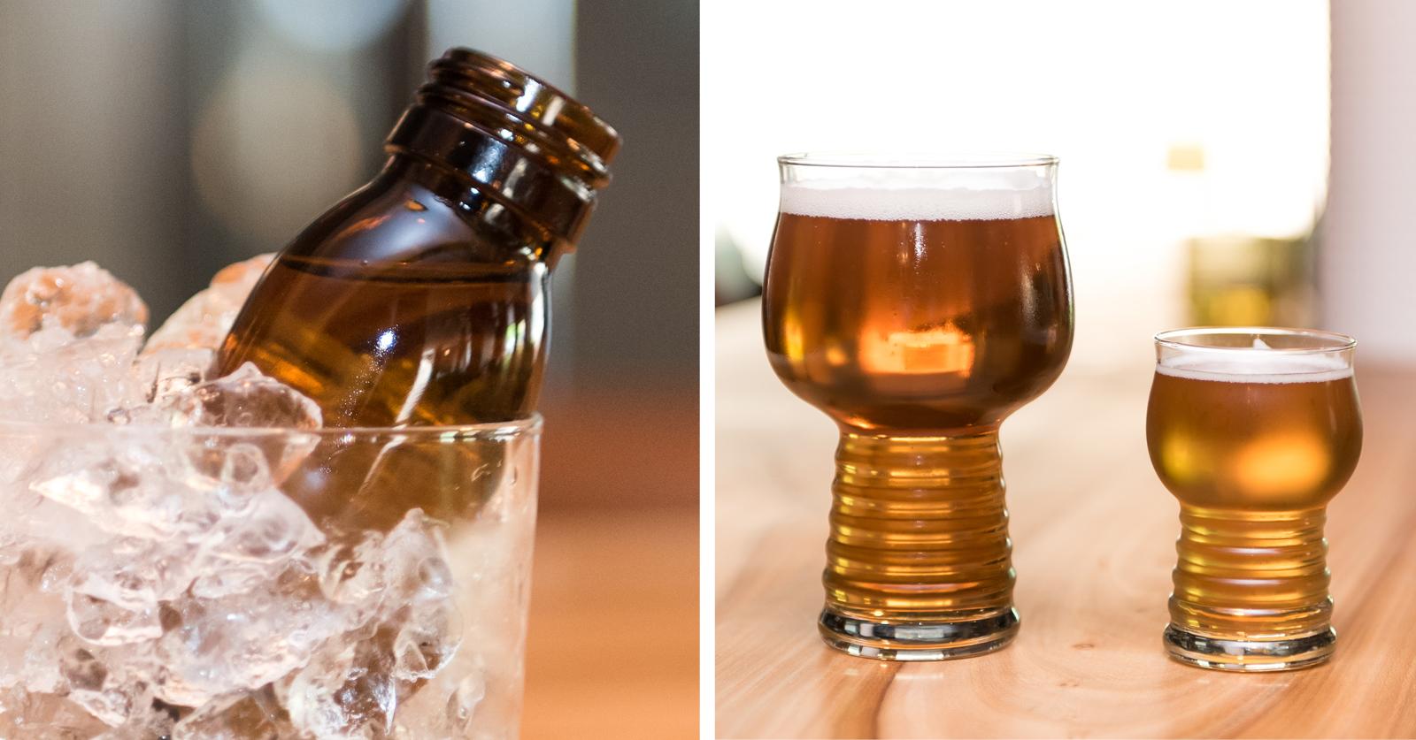 Gunnar Eatery & Barissa väkevä juoma tarjoillaan lääkepullosta.