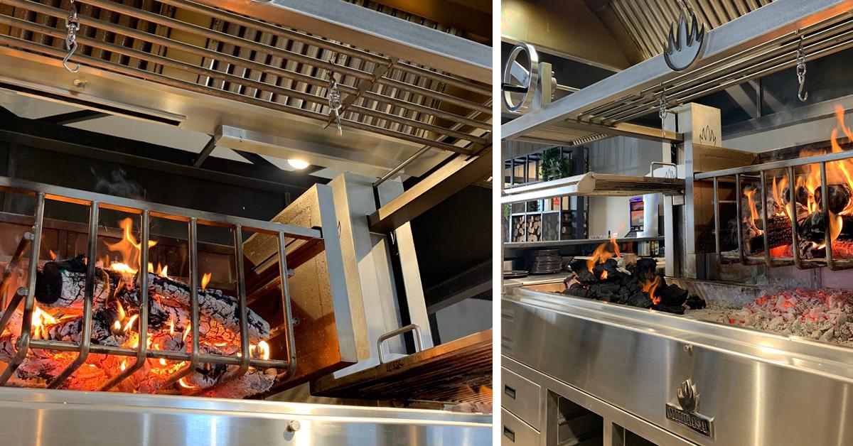 PARRILLA FIRE by MIBRASA® -avohiiligrilli on suunniteltu ja rakennuttu perinteisiä kulinaristisia ruoanvalmistustekniikoita hyödyntäen.