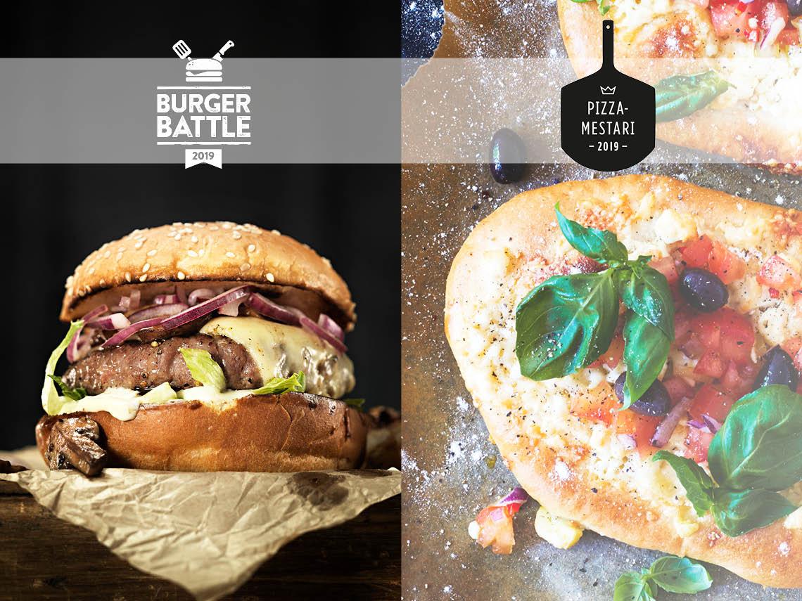 Pizzamestari- ja Burger Battle3