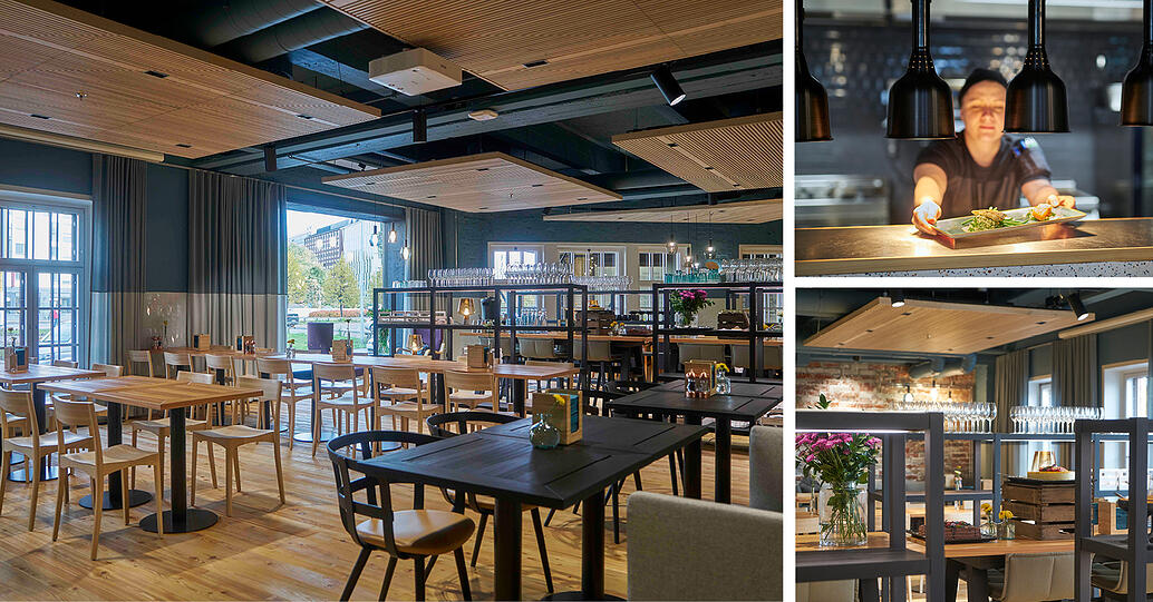 Ravintola R täydentää Campus Food Marketin tarjontaa uniikilla á la carte -konseptilla