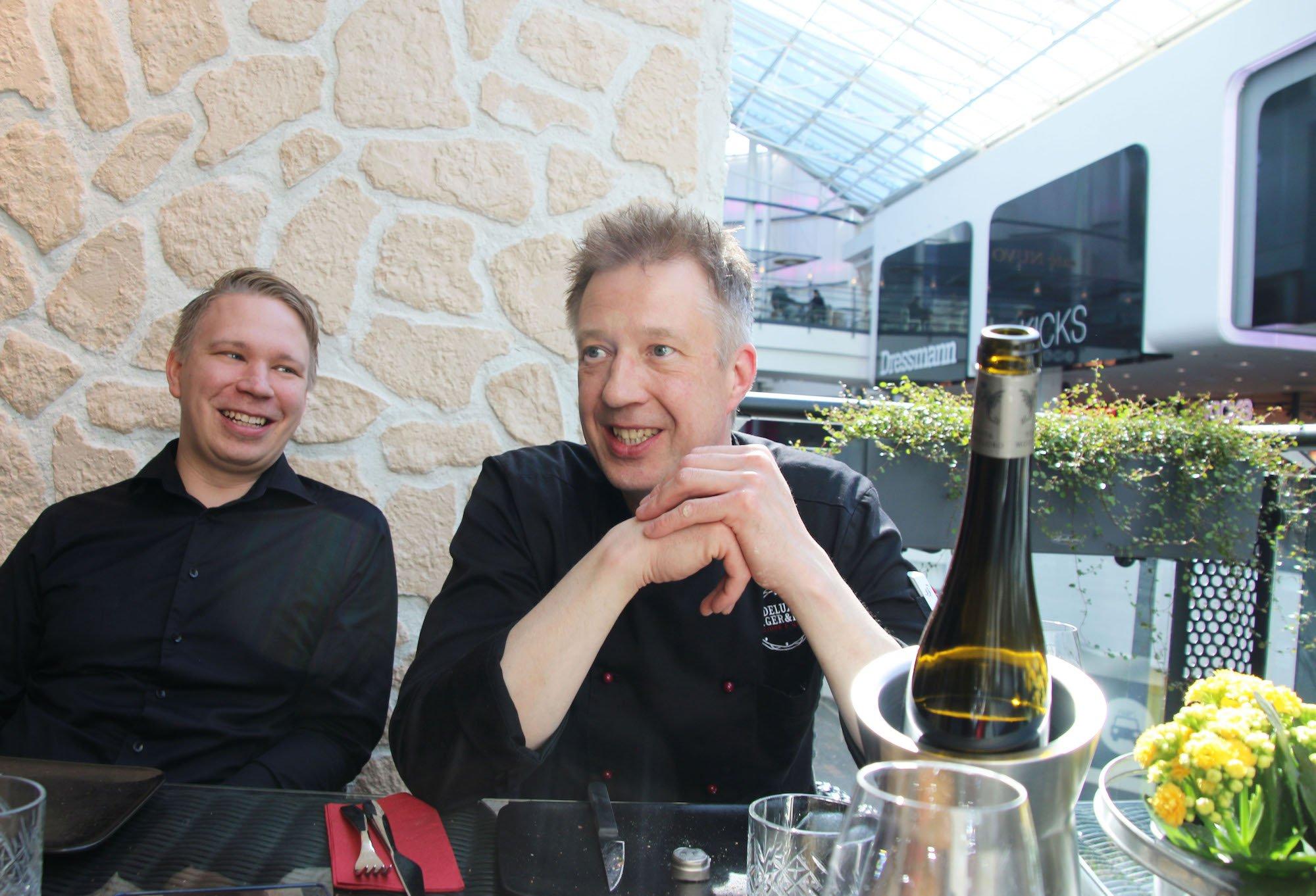 Tony Brander ja Mikko Vettenranta