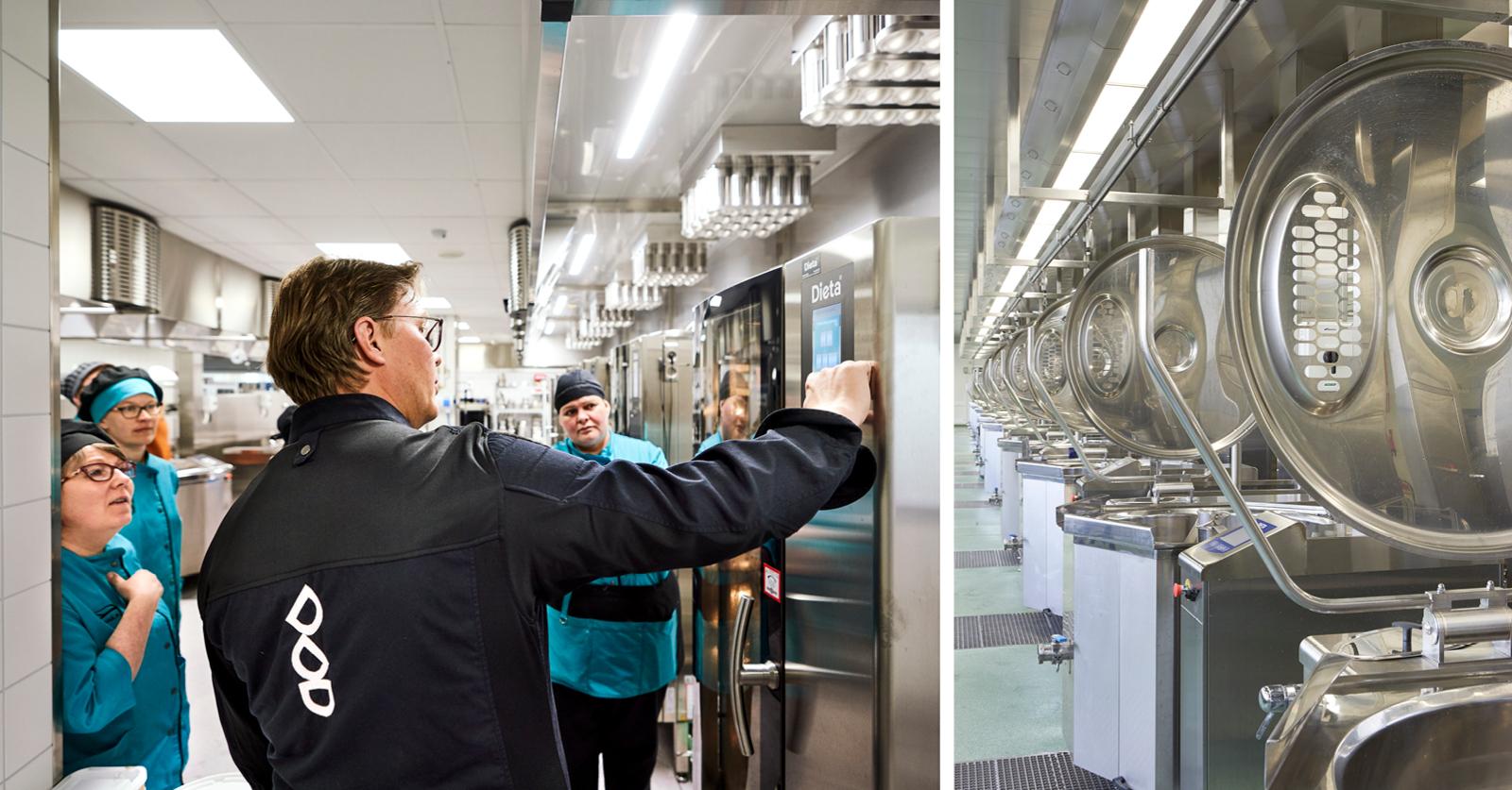 Energiatehokas ammattikeittiö 2