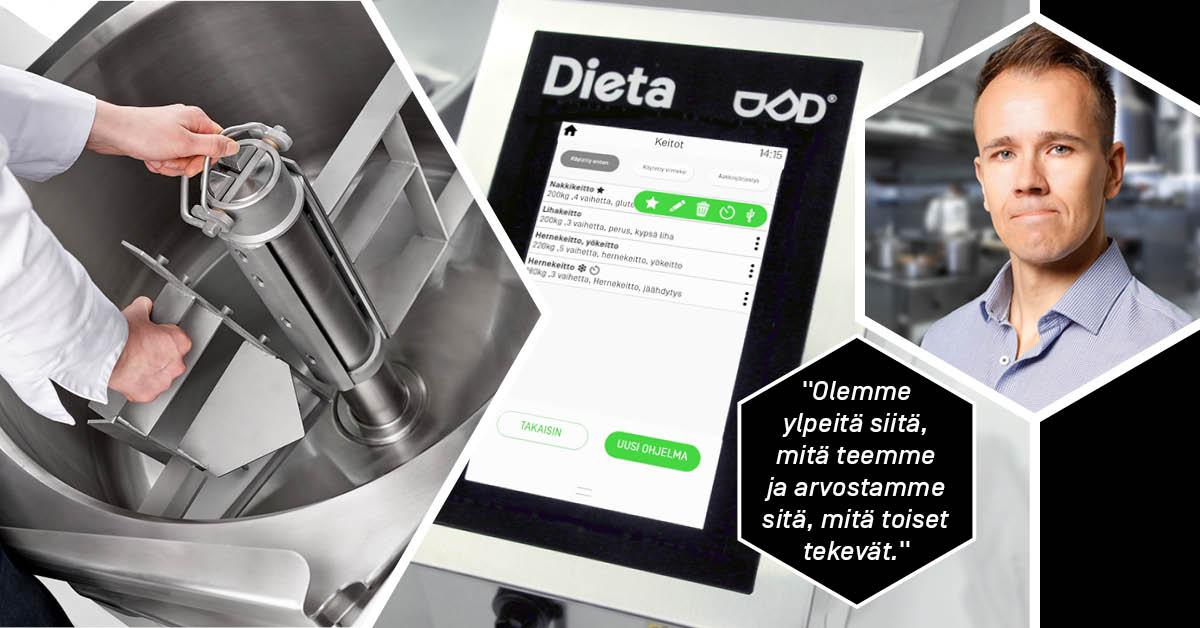 Dietatec – kaikesta tekemisestä asiakaslähtöistä