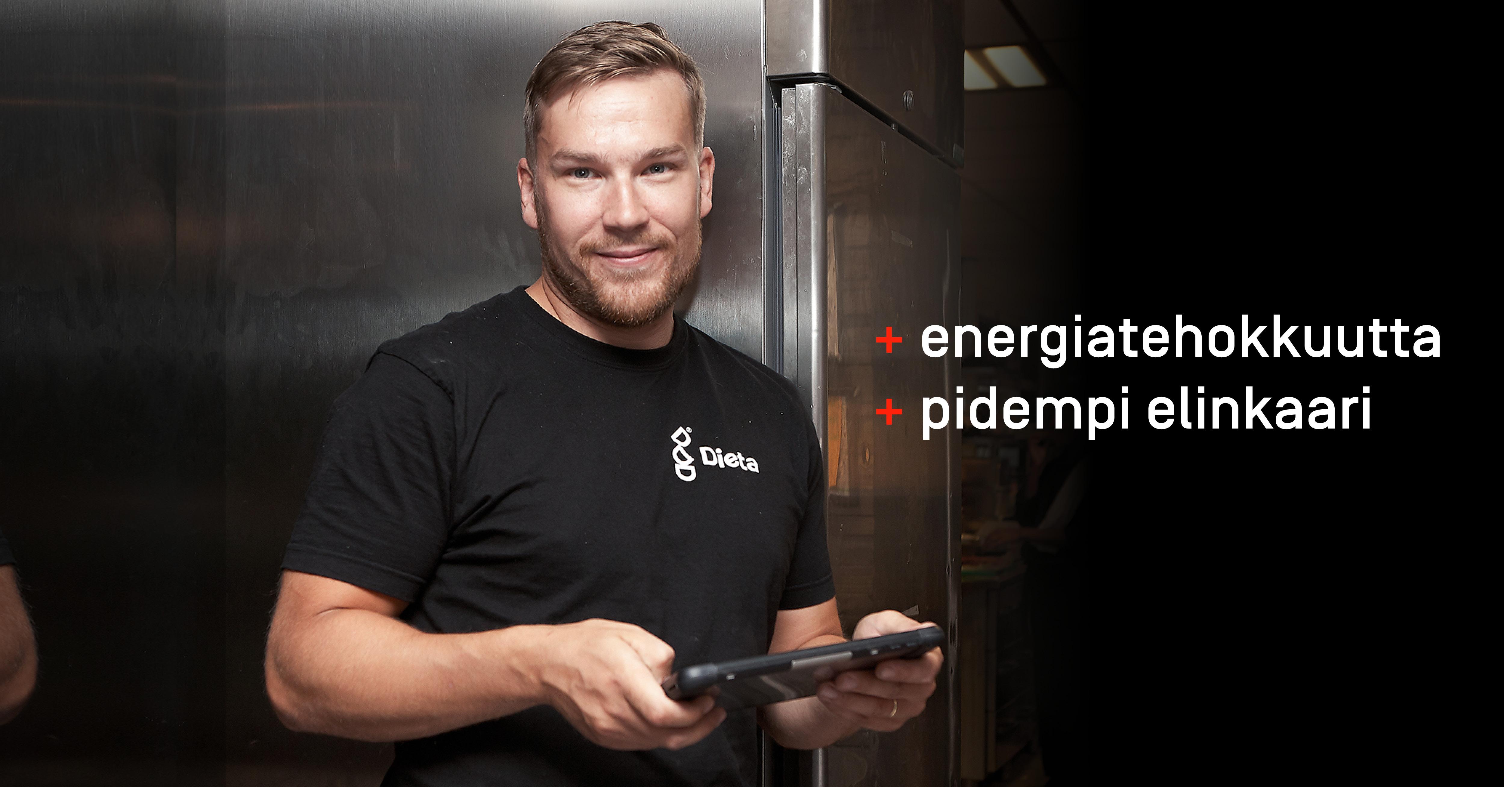 Paranna laitteiden energiatehokkuutta säännöllisellä ylläpidolla