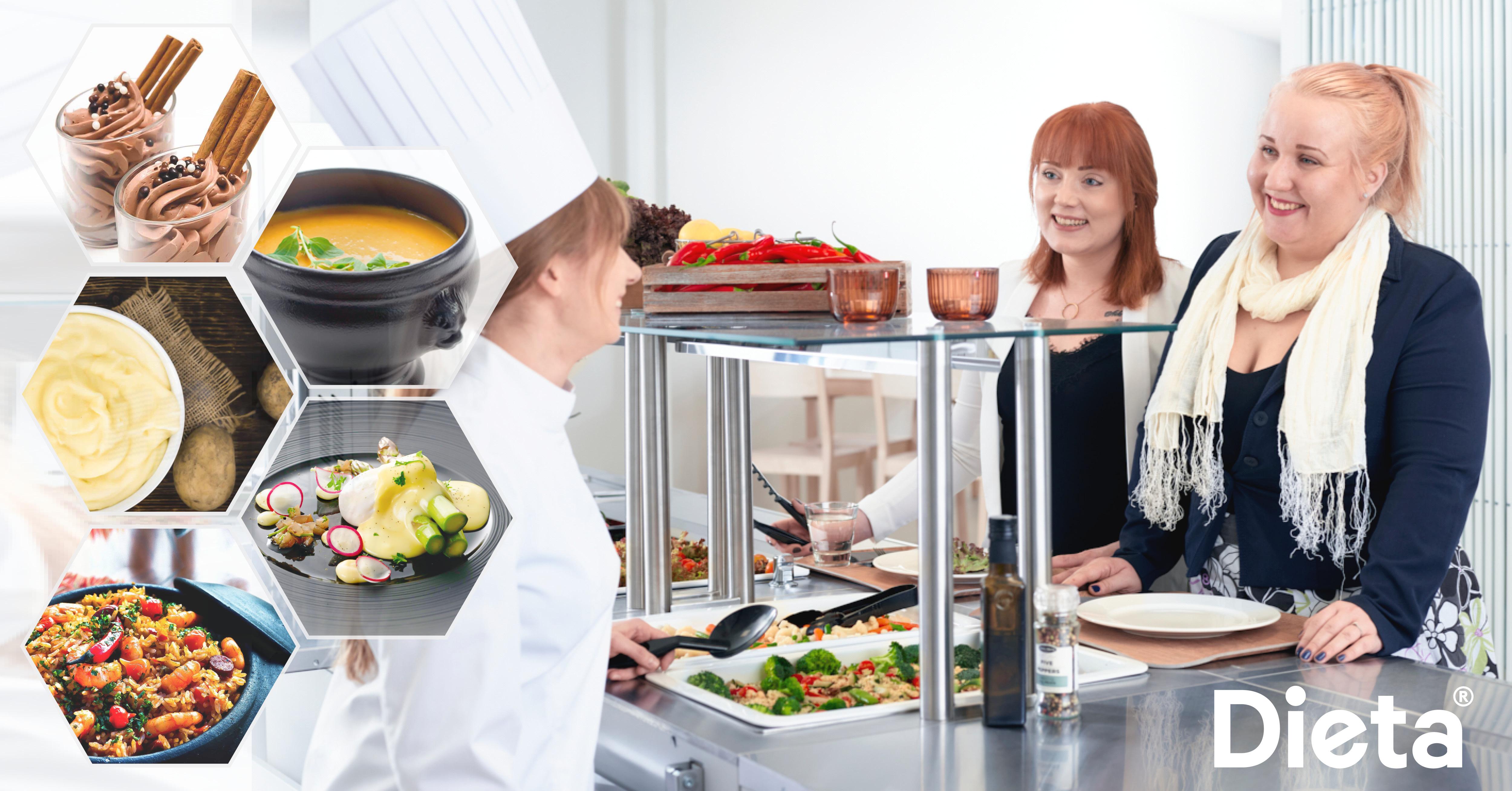 Dieta Genier – monitoimilaite kaikentyyppisiin ammattikeittiöihin