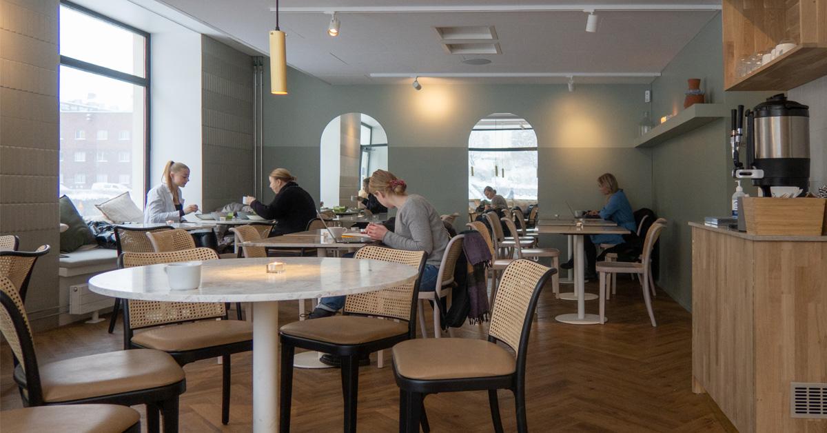 Green Hippo Cafe valloittaa nyt myös kalliolaisten sydämiä