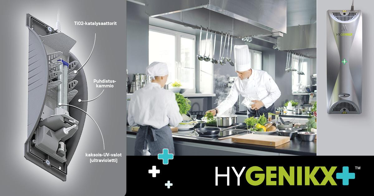HyGenikx-ilmanpuhdistimet – näin se toimii!