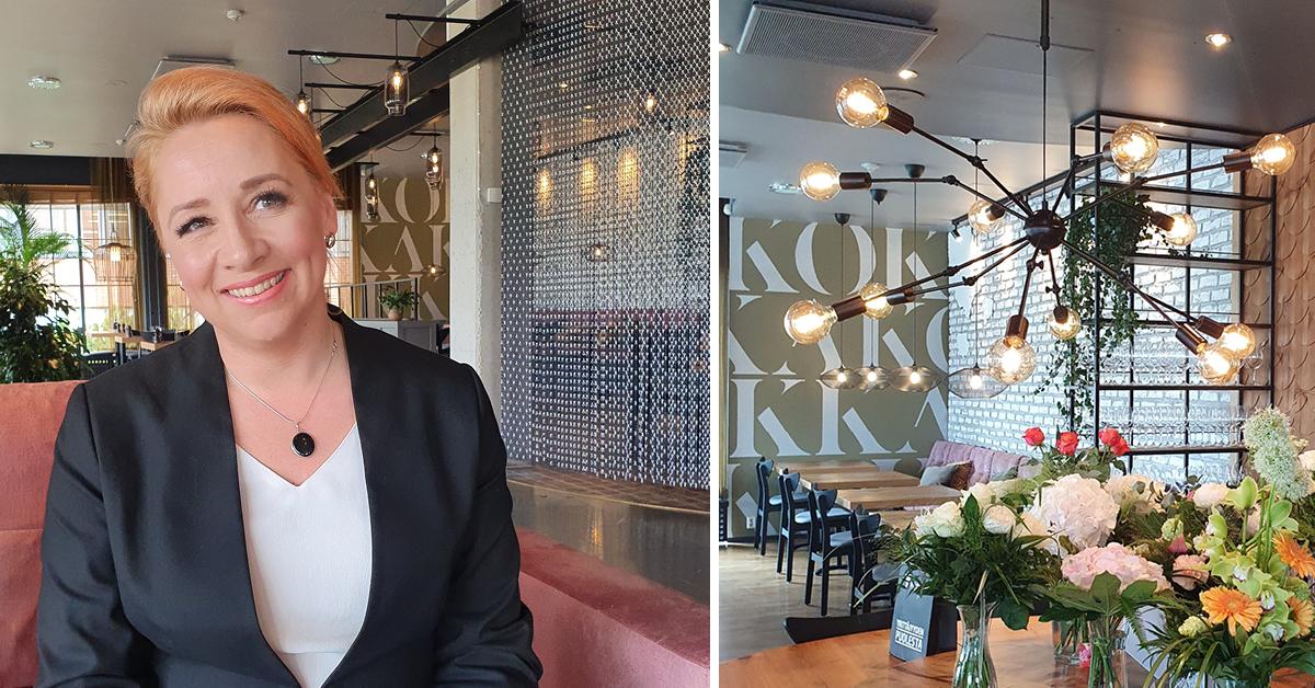 Uusi Kokka Bistro & Bar ihastuttaa makuelämyksillä ja maisemilla