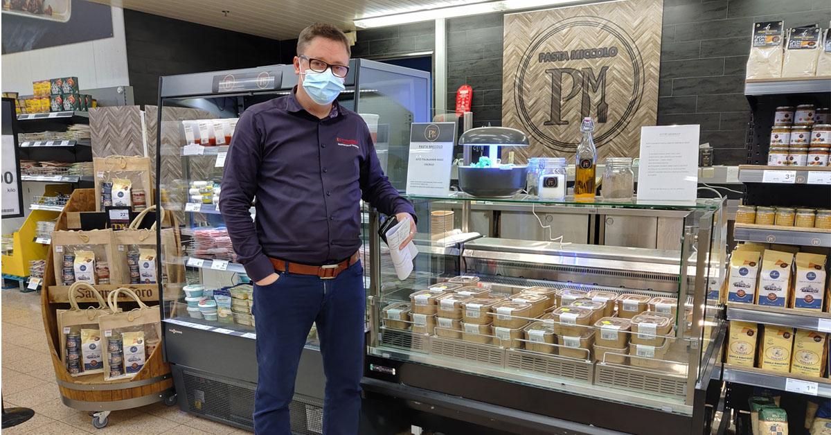 K-Citymarket Mikkola tarjoaa palan Italiaa
