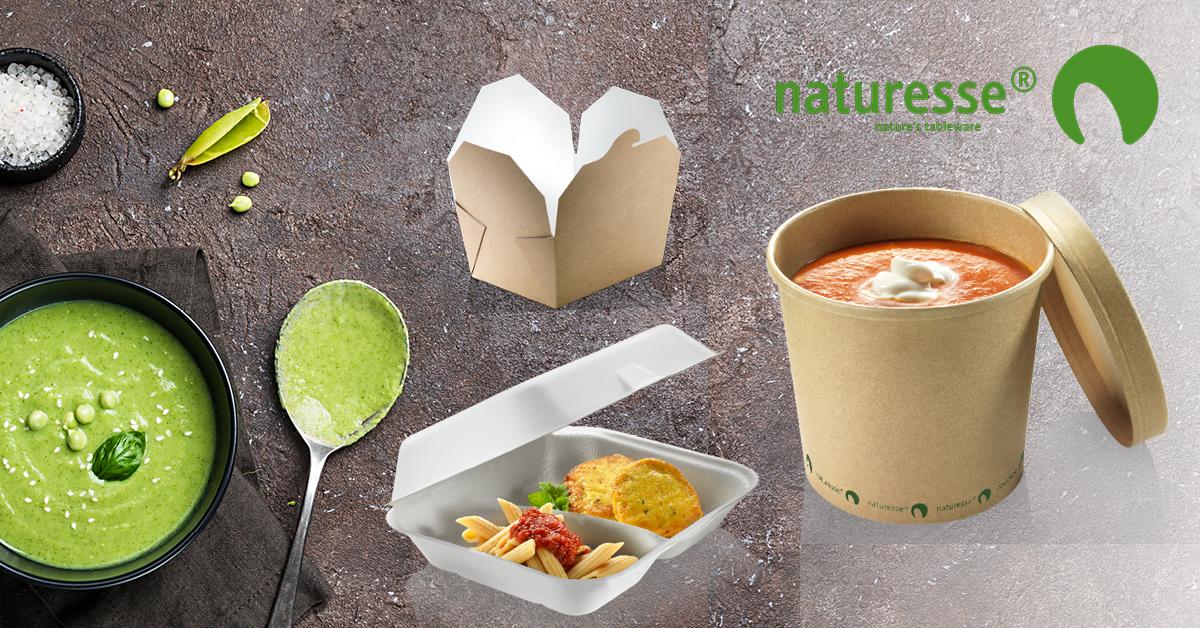 Ekologiset kertakäyttöiset take away -pakkaukset nyt meiltä
