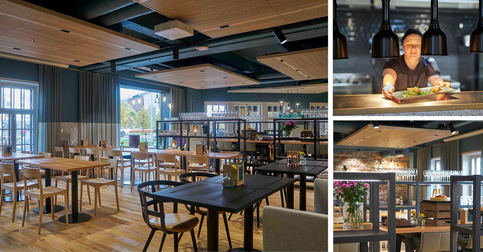 Ravintola R täydentää Campus Food Marketin tarjontaa uniikilla à la carte -konseptilla