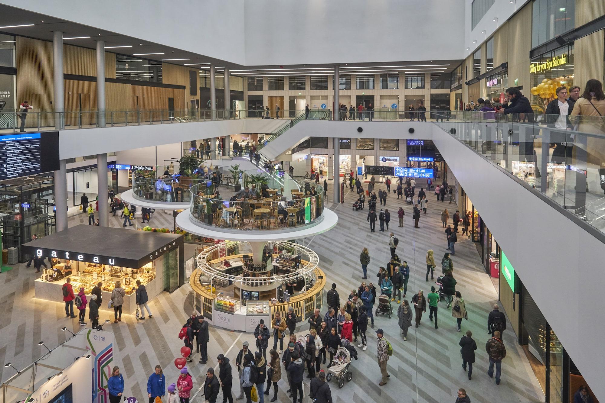 Mall of Tripla uudisti Helsingin Pasilan